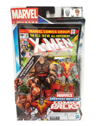 Marvel Universe Greatest Battles COLOSSUS vs JUGGERNAUT 2-Figure Comic Packs buymi