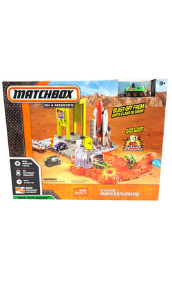 Matchbox Cars Mission Mars Explorers Action Slammer Playset buymi