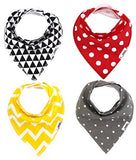 Matimati Baby Bandana Drool Bibs with Snaps 4-Pack Cotton buymi stock