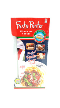 Microwave Pasta Cooker The Original Fasta Pasta with Spiral Cookbook buymi