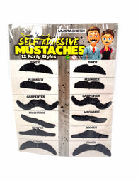 Fake Mustaches 36 Costume & Party Mustaches 12 Different Styles buymi