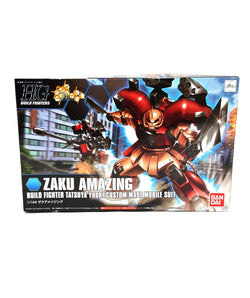 Bandai Hobby HGBF Zaku Amazing Model Kit 1/144 Scale buymi