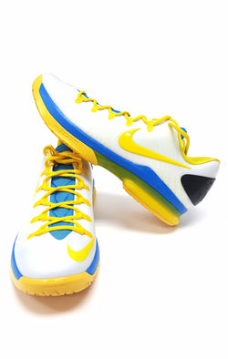 Nike KD V Elite Kevin Durant White Yellow Blue buymi