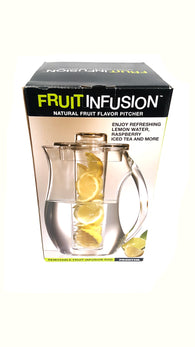 Perlli Fruit Infusion Pitcher with Ice Core Rod Water Pitcher 2.9 Quart buymi