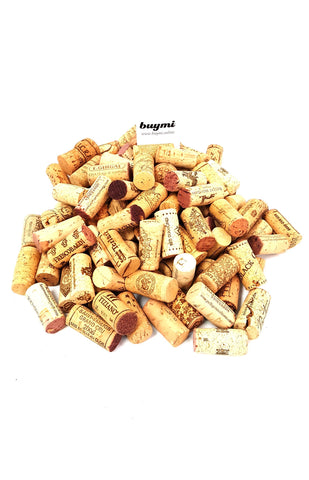 Premium Recycled Corks, Natural Wine Corks From Around the US 100 Count buymi