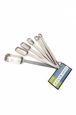 Measuring Spice Spoons Set 6pc Stainless Steel RSVP Endurance Baking Cooking buymi