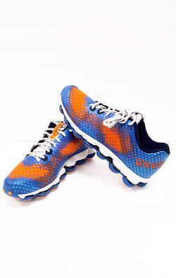 Reebok Mens SkyCell DMX Running Shoe Blue Orange buymi