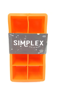 SimplexSilicone Best Large Ice Cube Tray Molds 2 Pack buymi