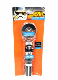 Star Wars Darth Vader Lightsaber Talking Pizza Cutter Fun Gift Kitchen Food buymi