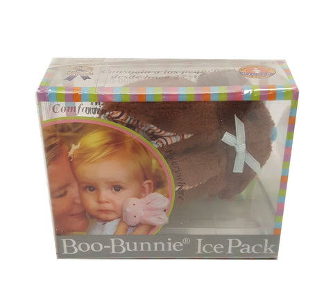 Stephan Baby Boo Bunnie Comfort Toy and Boo Cube Brown Blue buymi