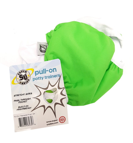 Super Undies Potty Training Pants Green Small buymi