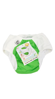 Super Undies Pull-On Training Pants Ages 9-12 XXL Fearsome Frog Green buymi