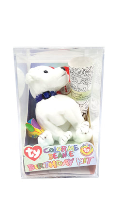 TY Beanie Baby COLOR ME BEANIE THE DOG Complete Kit buymi
