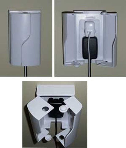 Twin Door Outlet Box Safety Innovations Electrical buymi