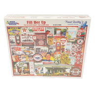 White Mountain Puzzles Fill Her Up - 1000 Piece Jigsaw Puzzle buymi