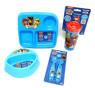Zak Designs Paw Patrol Dinner Set Plate Bowl Cup Utensils