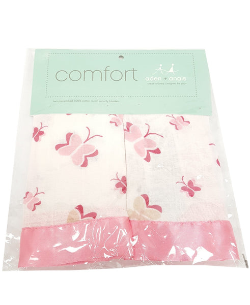 aden + anais 2 Pack Muslin Issie Security Blanket buymi