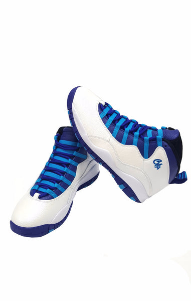 Air Jordan Retro 10 Charlotte White Concord Blue buymi