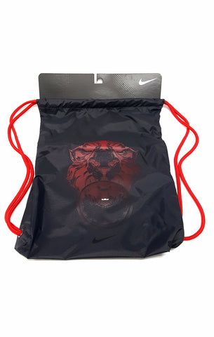 Nike Lebron James Drawstring Backpack Lion Logo buymi
