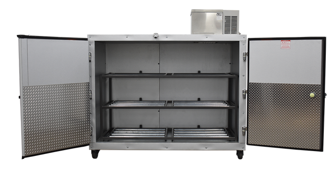 3 Body Side Loading Mortuary Cooler Model# 3BX-SL + Free premium freight shipping until 12/31/2019