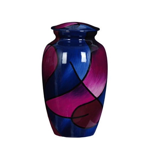 Urn Hand Painted Abstract