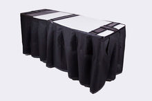 ID Viewing System works with dressing tables, cots, and embalming tables Middleton Red Pattern