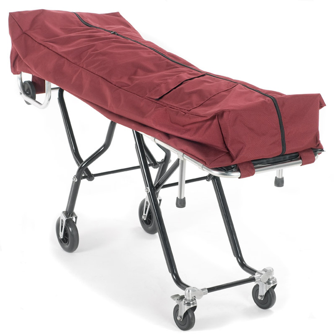 Oversized Mortuary Cot Pouch with Dual Zippers