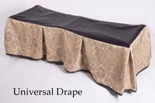 Premium Church Truck Drape in Military Service Set in Champagne Fabric