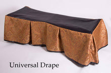 Premium Church Truck Drape in Copper Patterned Fabric