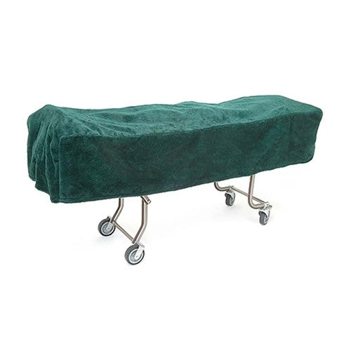 Mortuary Cot Cover in Hunter Green