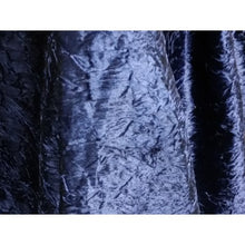 Church Truck Drape Navy Blue Velvet