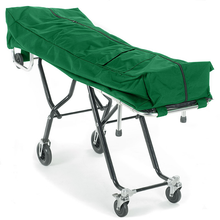 Standard Mortuary Cot Pouch with Dual Zippers