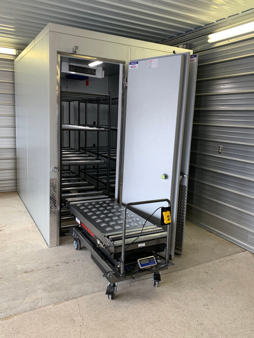 Image of American Mortuary Coolers Multi-Directional Top Scissor Lift