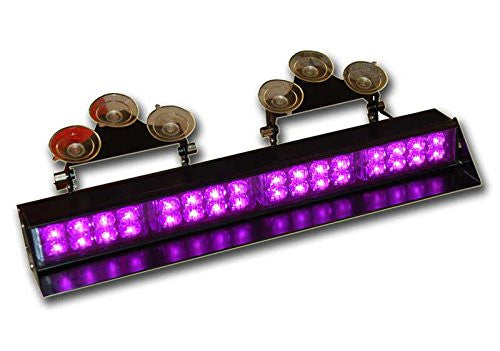 High Output Window Mount Strobe Bar Purple  17