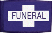 Procession Flag Banner Replacements Purple