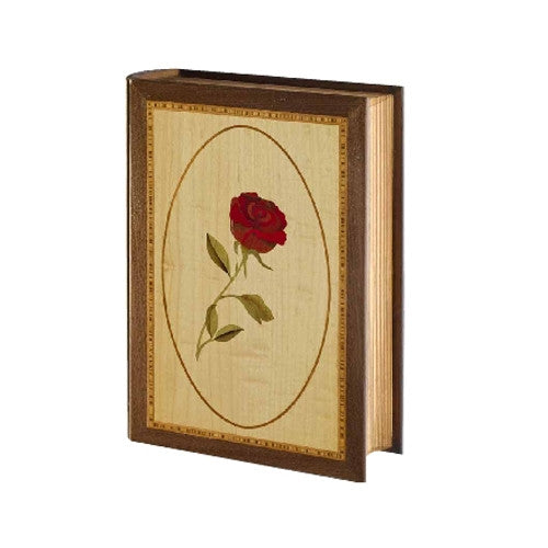 Handcrafted Rose - Wood Marquetry