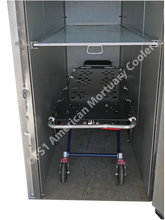 Image of Cot inside 2-Body Mortuary Cooler