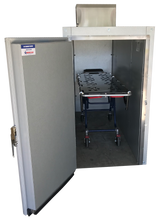 Image Of Open Door One-Body American Mortuary Cooler With Cot