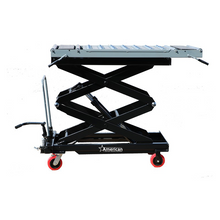 crematory scissor body lift