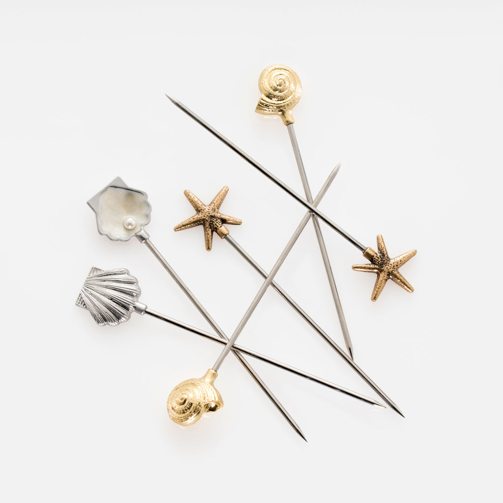 Shell Cocktail Picks
