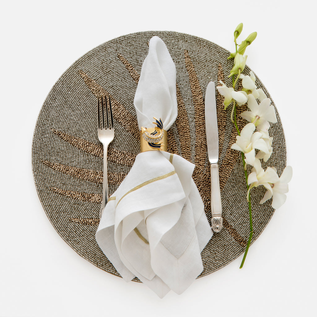 Palm frond placemat
