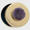 Druzy large jewelry box, amethyst