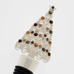 Christmas tree wine stopper