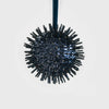 Hanging sputnik ornament, navy