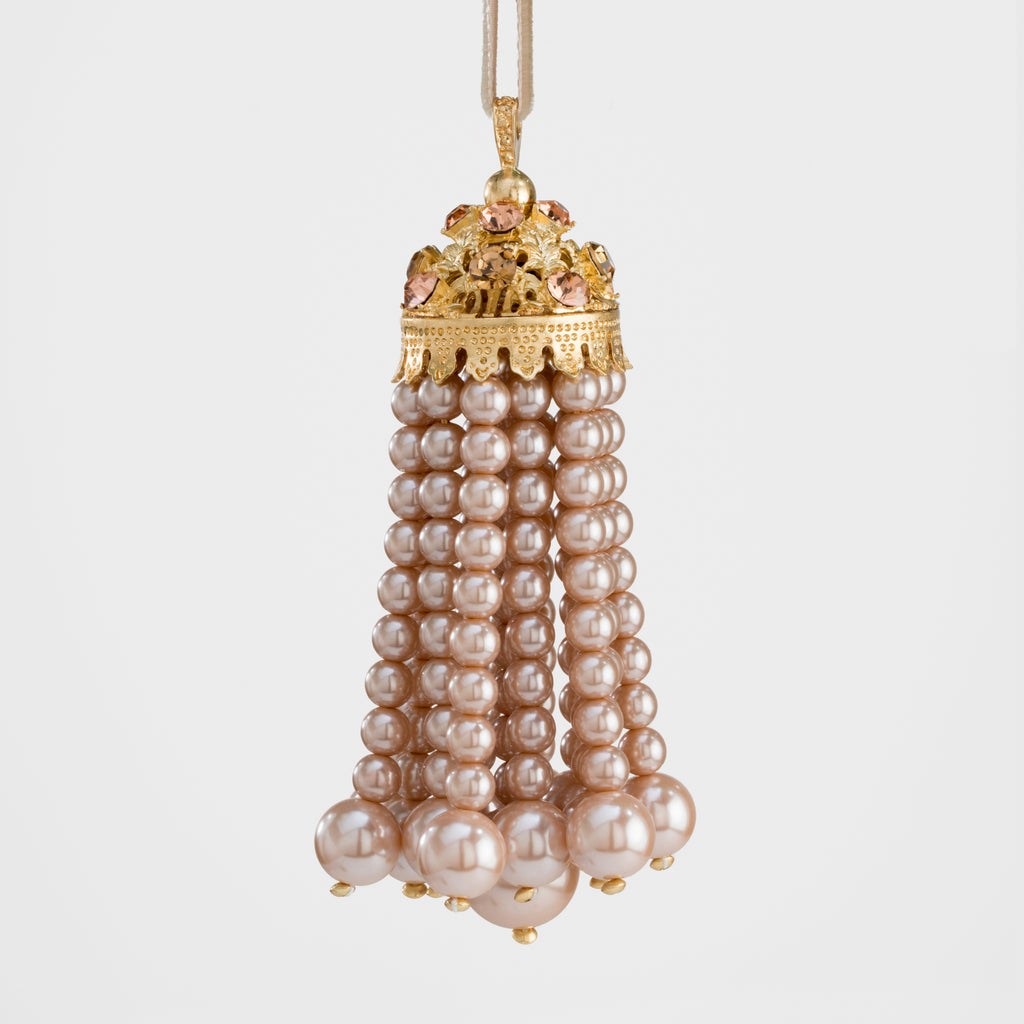 Hanging pearl tassel, coco