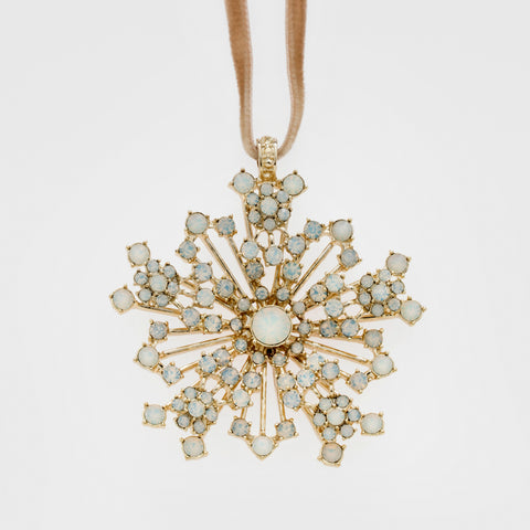 Sputnik pearl star ornament