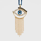 Evil eye hanging ornament