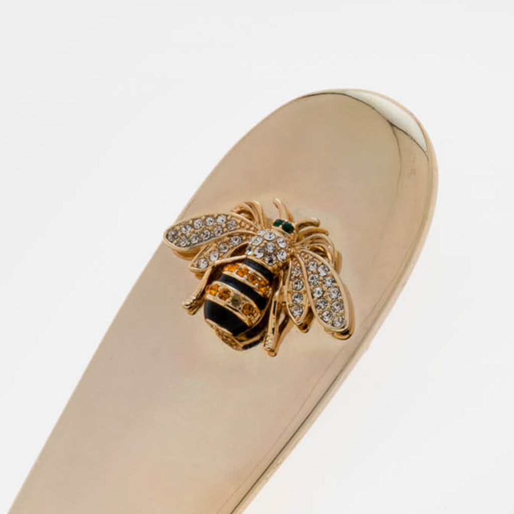 Letter opener with stripey bee