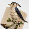 Bird napkin rings, set of two