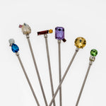 Jeweled swizzle sticks